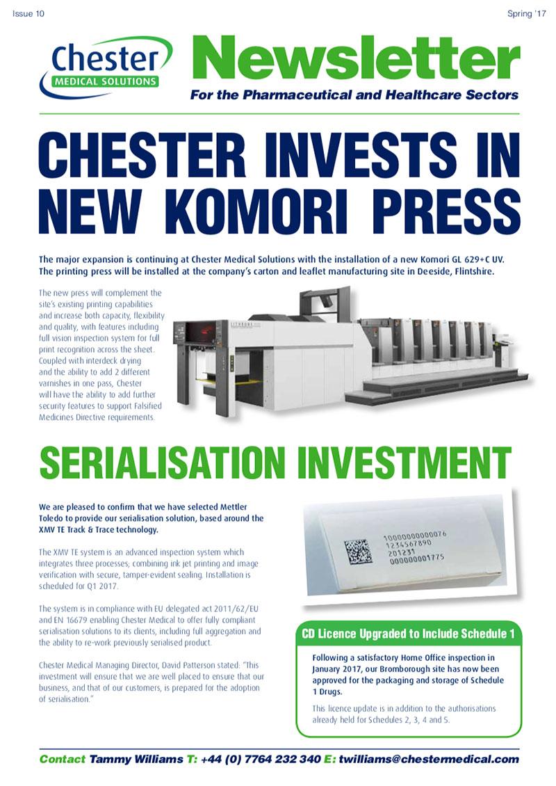 CMS NEWSLETTER Issue 10 - Chester Medical