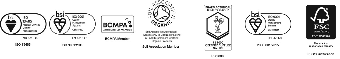 Accreditations / Certifications